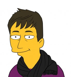 Nick Power in the simpsons