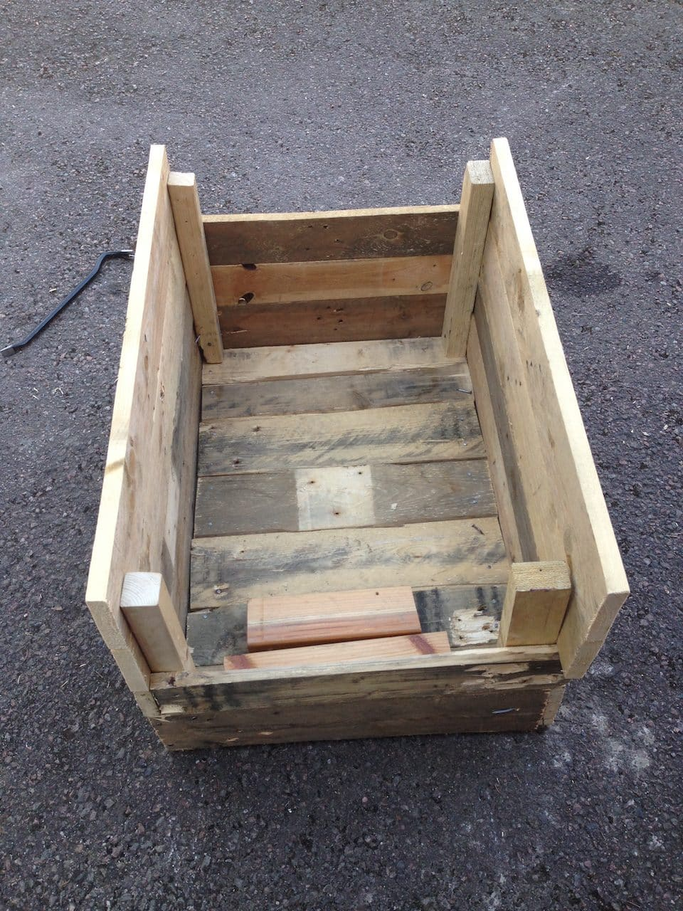 DIY planter box design
