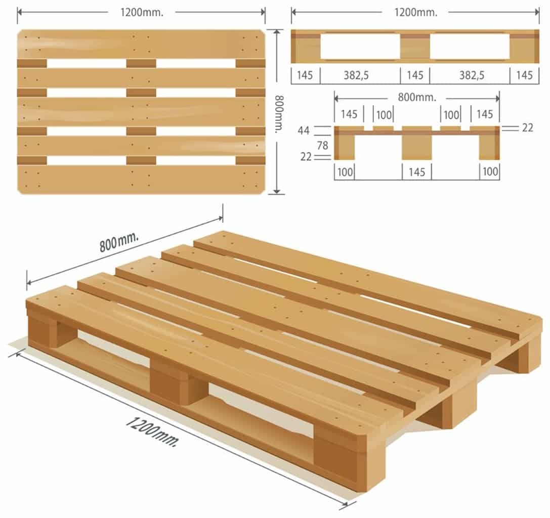 Diy pallet planter box easy to build recycle nick power - Deco jardin palette ...